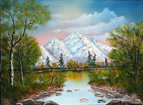 Mountain Lake by Arno Clabaugh