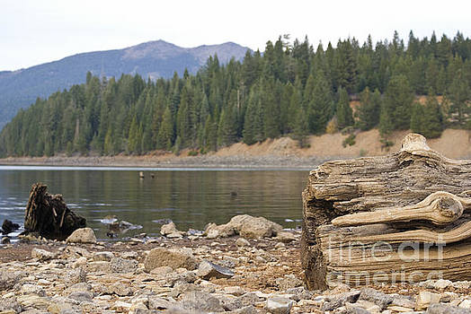 Mountain lake by Cindy Garber Iverson