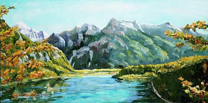 Mountain Lake by Ingrid Dohm