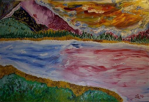 James Bryron Love - Mountain Lake