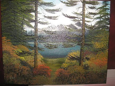 Mountain Lake by Jim Carreau