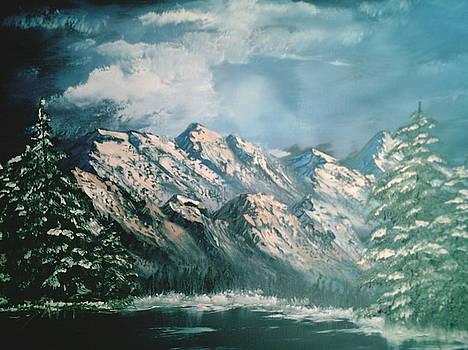 Mountain Lake by Jim Saltis