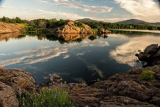 Mountain Lake by Katherine Worley