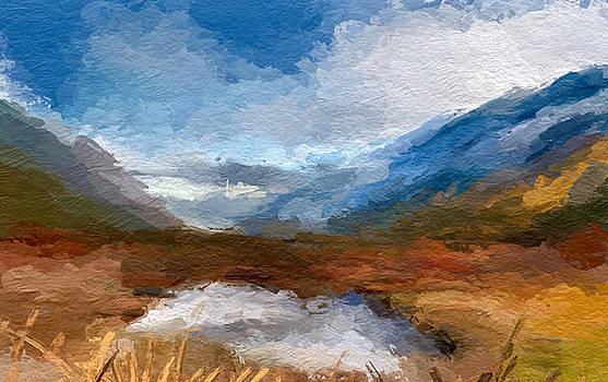 Mountain Landscape by Anthony Fishburne