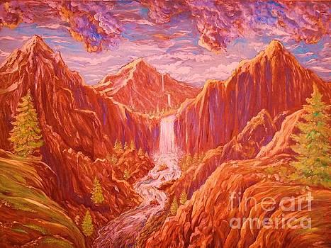 Mountain landscape by Kean Butterfield