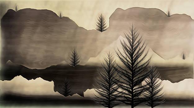 Mountain Landscape  by Philip A Swiderski Jr
