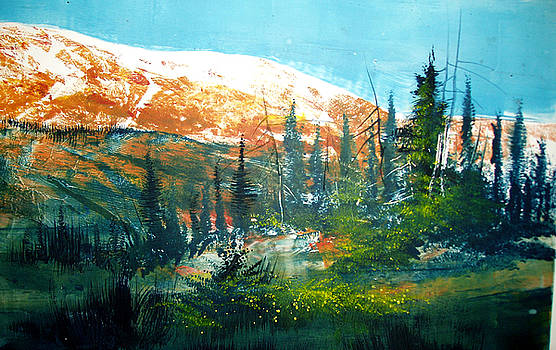 Mountain Light by Robert Carver