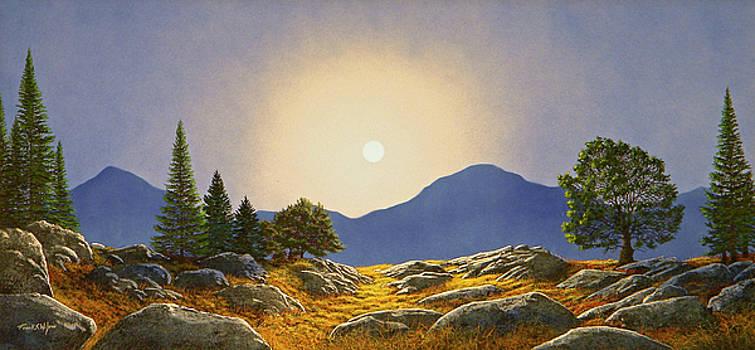 Frank Wilson - Mountain Meadow In Moonlight