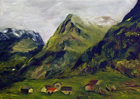 Mountain Meadow by Roseann Gilmore