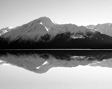 Mountain Mirror by Kimberly Blom-Roemer