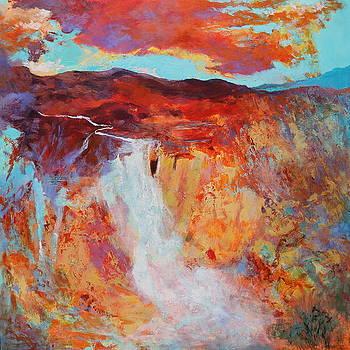Mountain Monsoon by M Diane Bonaparte