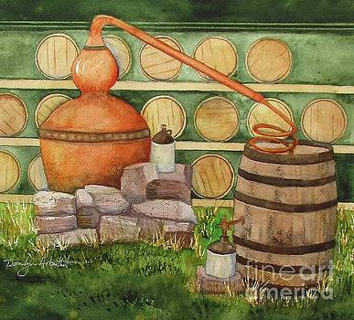 Mountain Moonshine Still by Donlyn Arbuthnot