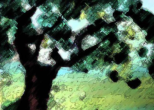 Mountain Oak by Lisa Purcell