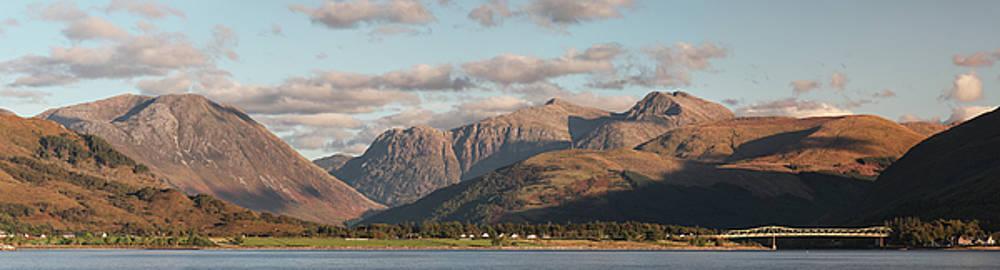 Mountain Panorama by Grant Glendinning