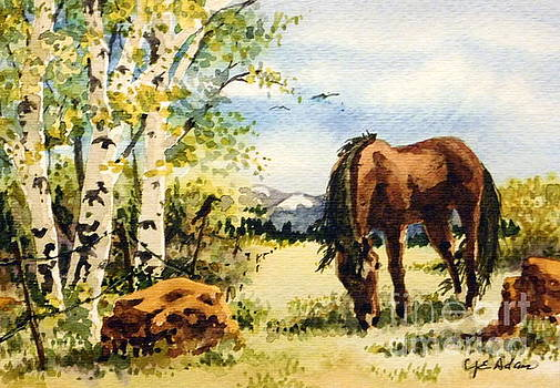 Mountain Pasture by Cheryl Emerson Adams
