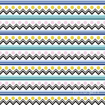 Mountain Pattern by Elizabeth Tuck