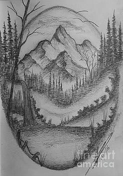 Mountain Peak  by Collin A Clarke