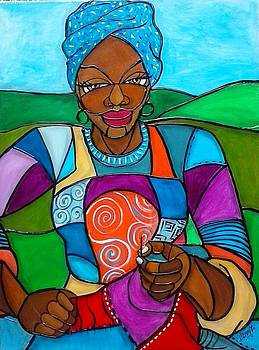 Mountain Quilter by Jenny Pickens