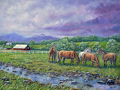 Mountain Rain by Gail Butler