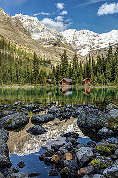 Mountain Reflection at Lake OHara by Pierre Leclerc Photography