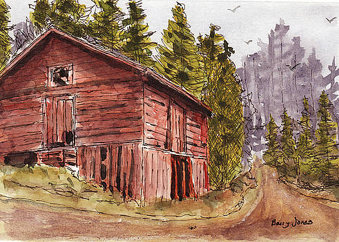 Mountain Retreat by Barry Jones