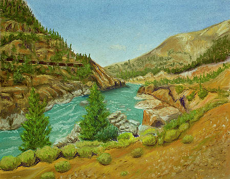 Mountain River by Dorothy Riley