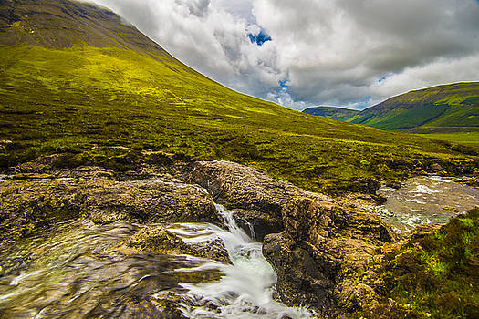 Mountain River II by Steven Ainsworth