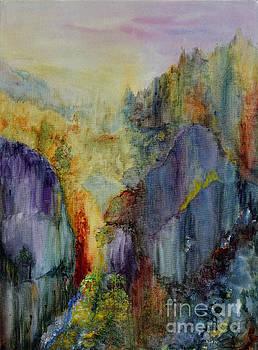 Mountain Scene by Karen Fleschler