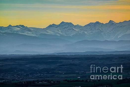 Mountain Scenery 12 by Jean Bernard Roussilhe