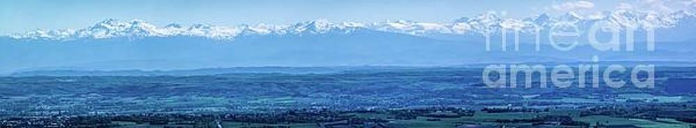 Mountain Scenery 16 by Jean Bernard Roussilhe