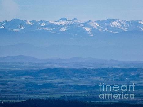 Mountain Scenery 5 by Jean Bernard Roussilhe