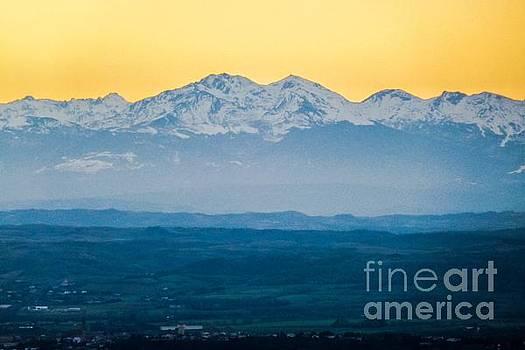 Mountain Scenery 7 by Jean Bernard Roussilhe
