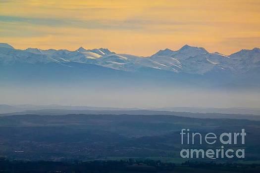 Mountain Scenery 9 by Jean Bernard Roussilhe
