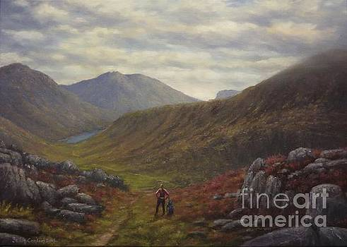 Mountain Solitude in Ireland by Sean Conlon