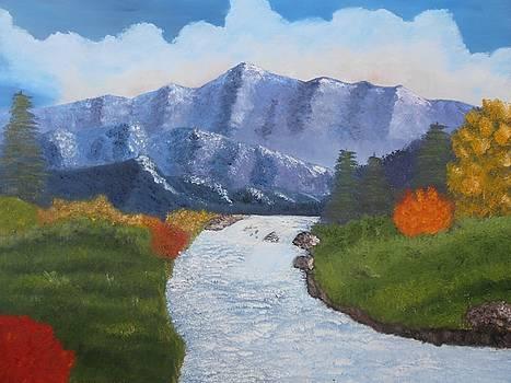 Mountain Stream by Dorothy Merritt