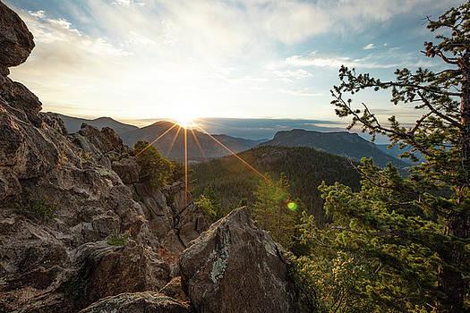 Mountain Sun Rays by Sean Allen