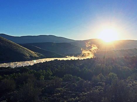 Mountain Sun Rise by Jaren Johnson