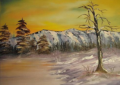 Mountain Sunrise by James Higgins