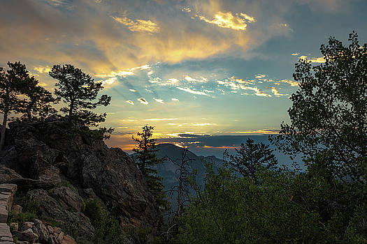 Mountain Sunrise by Sean Allen