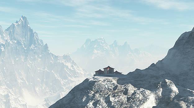 Mountain Temple by Chris Bird