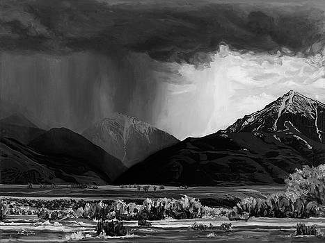 Mountain Thunderstorm by Daniel Price