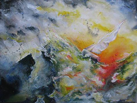Mountain to climb by Moray Watson