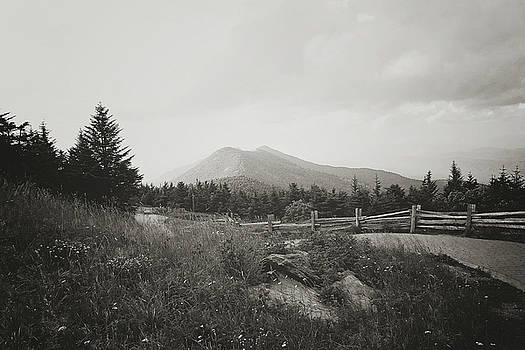 Mountain Trail 1 BW by Megan Swormstedt