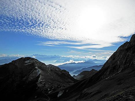Dreamy Mountains by Pema Hou