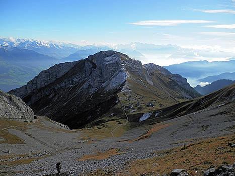 Mountain View 4 by Pema Hou