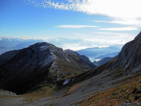 Mountain View 5 by Pema Hou