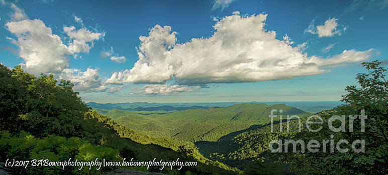 Mountain View from Preachers Rock by Barbara Bowen