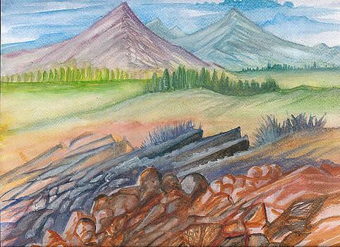 Mountain View by Luke Aldington