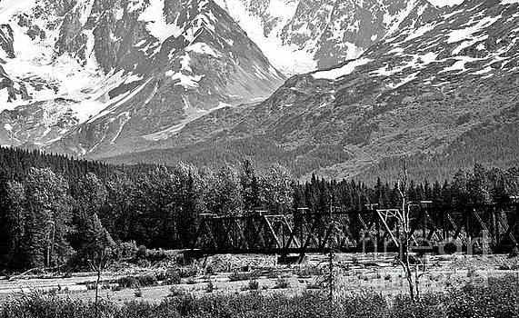 Chuck Kuhn - Mountains Alaska BW