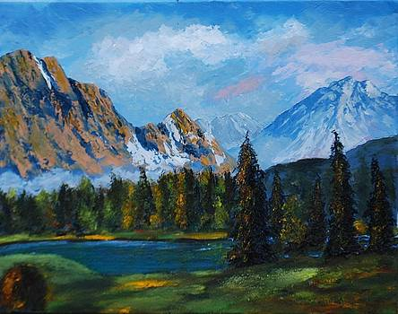 Mountains by Brian Hustead